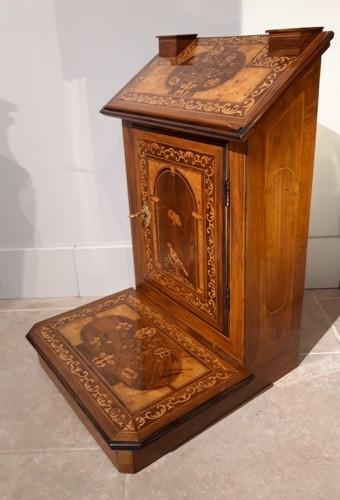 Furniture  - ''Prie-Dieu'' inlaid, late 17th century