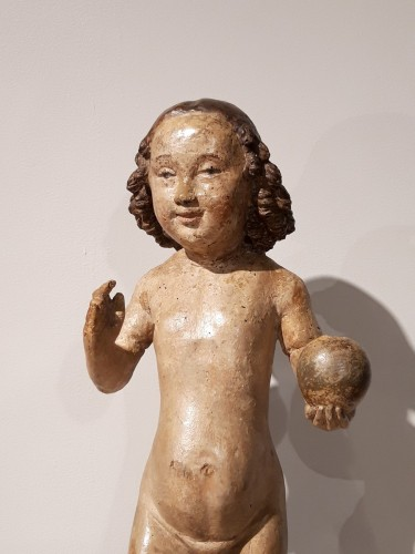 Child Jesus in carved wood circa 1520 -