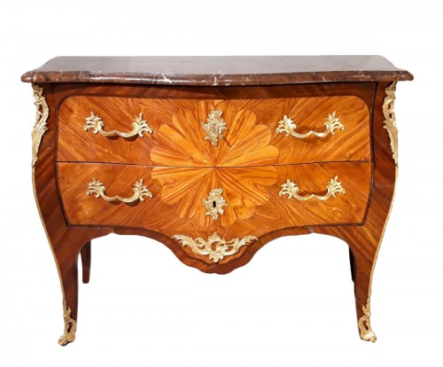 French Louis XV ''commode'' stamped DELORME