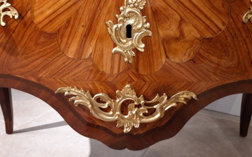 French Louis XV ''commode'' stamped DELORME -