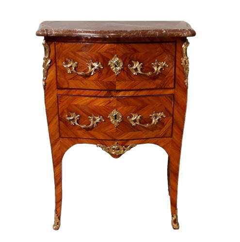 Louis XV commode stamped C.I. DUFOUR, 18th  century
