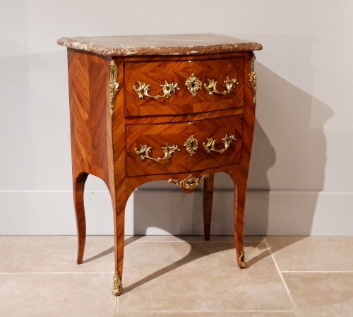Louis XV commode stamped C.I. DUFOUR, 18th  century - Furniture Style Louis XV