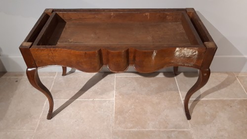 Antiquités - Louis XV console table in walnut
