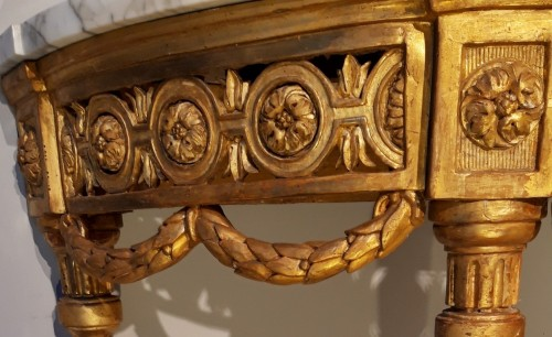 Furniture  - Louis XVI giltwood Console table