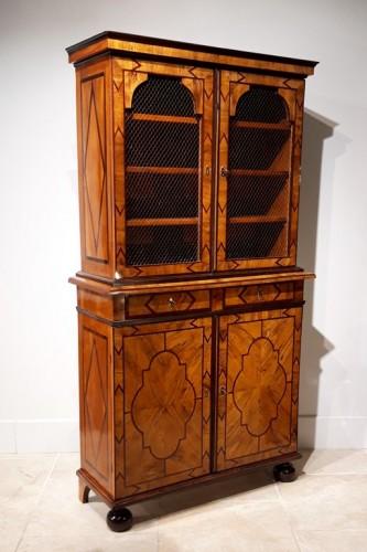 Furniture  - Library Louis XIV Thomas Hache