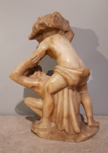 Sculpture  - Alabaster representing Hercules from the 16th century