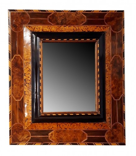 Louis XIV mirror in marquetry - Thomas Hache