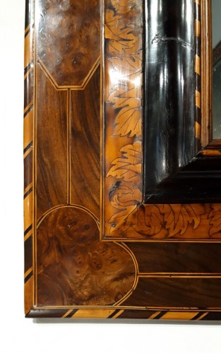 Louis XIV mirror in marquetry - Thomas Hache -