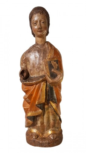 Polychrome Wooden Sculpture 16th Century