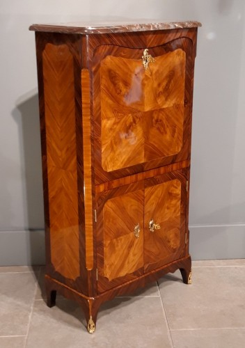 Furniture  - Secretary of lady Louis XV stamped Pierre ROUSSE