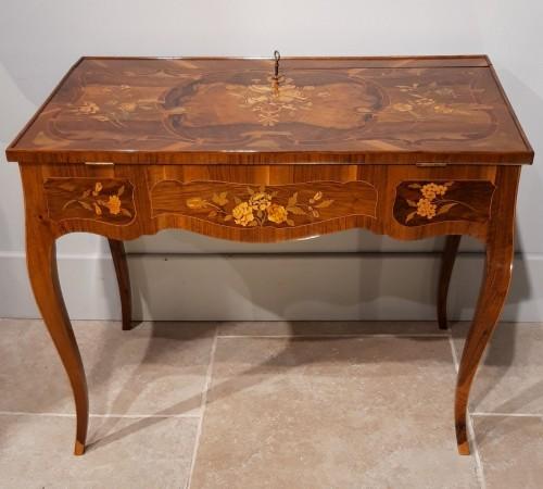 "Furniture  - French Desk ""capucin"", 18th Century"
