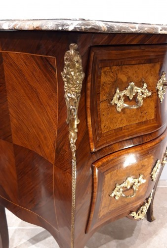 Small 18th century chest of drawers - Louis XV