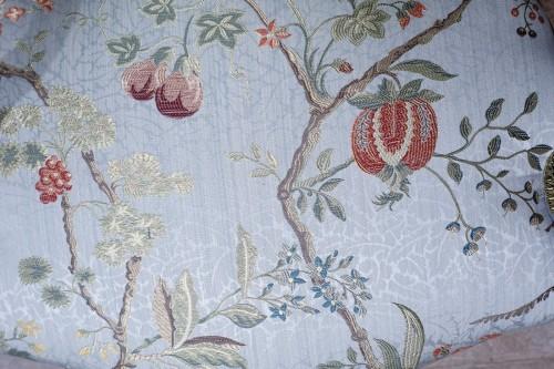 "Antiquités - Pair of Louis XV armchairs "" cabriolet"""