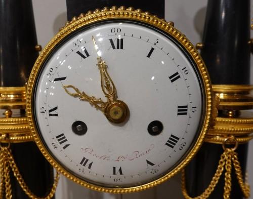 Horology  - French Louis XVI Portico Clock