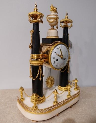 Louis XVI - French Louis XVI Portico Clock
