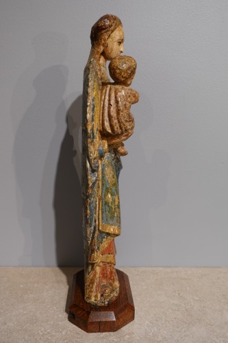 "Virgin and Child known as the ""Poupées de Malines"" circa 1500-1520 -"