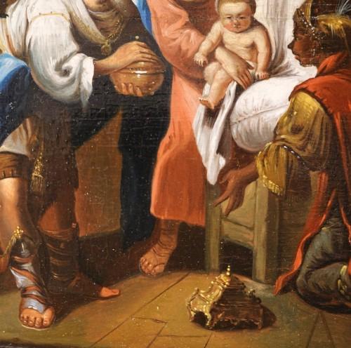 Paintings & Drawings  - Pair of 18th century religious paintings