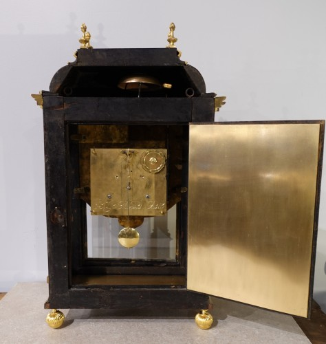 Horology  - French Table clock signed B.G Martinot, Louis XIV, 17th century