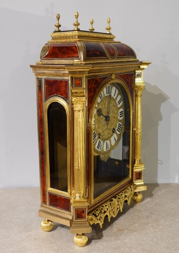 17th century - French Table clock signed B.G Martinot, Louis XIV, 17th century