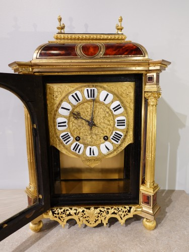 Antiquités - French Table clock signed B.G Martinot, Louis XIV, 17th century