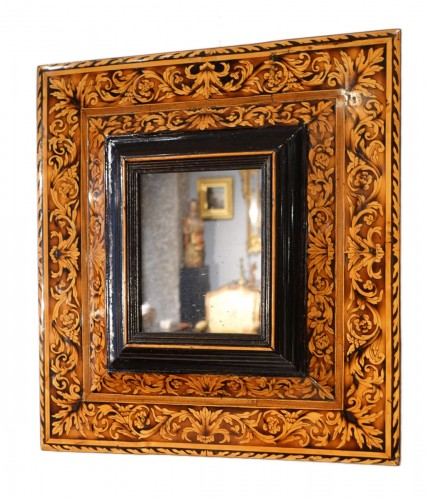 Marquetry mirror attributed to Thomas Hache, circa 1695