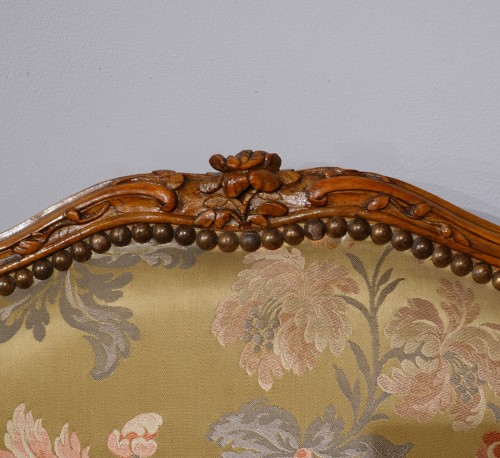 """18th century - Louis XV armchair stamped """"Falconet"""""""