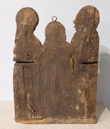 """Antiquités - 16th century  polychrome wood """"Pietà"""""""