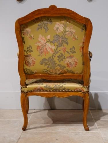 "Louis XV - Louis XV armchair stamped ""FRC Reuze"""