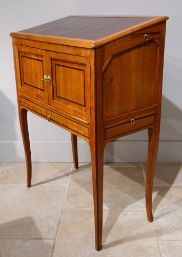 "Architect's desk stamped ""J. CANABAS"", 18th century -"