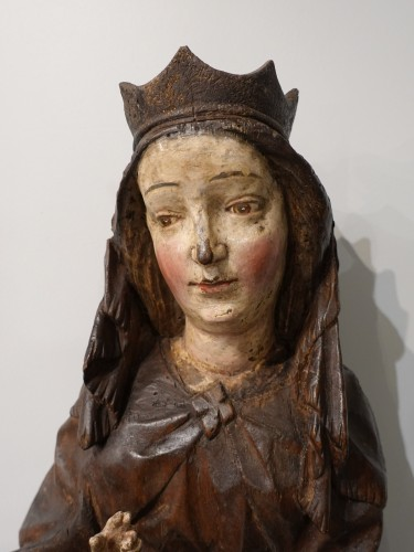 "Middle age - Virgin and Child ""in Majesty"", 15th century"