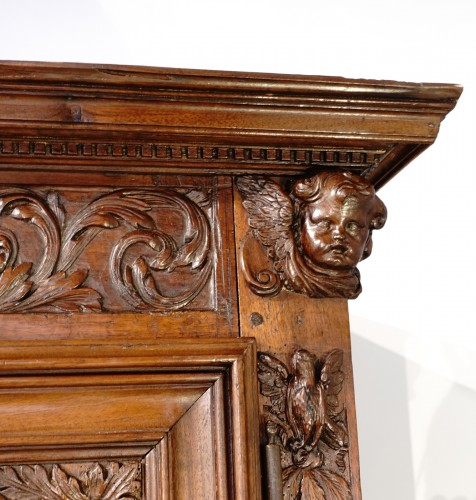 """17th century - French Louis XIII sideboard """"Four Seasons"""", early 17th century"""