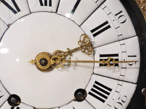 """French Louis XIV Clock """"religieuse"""", By The Watchmaker Mathieu Marguerite ( -"""