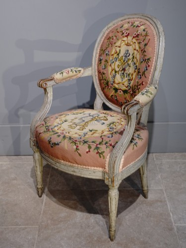 """French Louis XVI """"cabriolets"""" - Seating Style Louis XVI"""