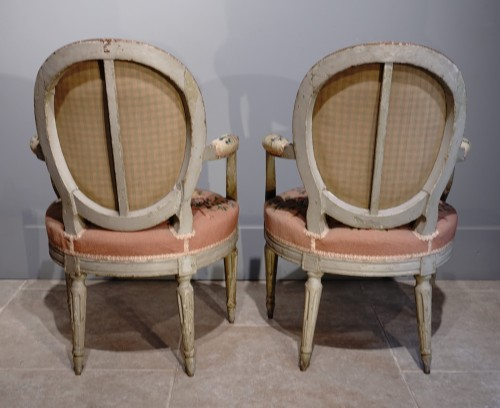"""Seating  - French Louis XVI """"cabriolets"""""""