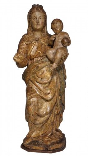 Italian Virgin And Child, Late 16th Century