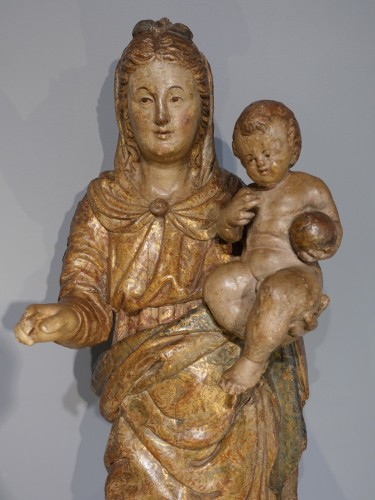 Sculpture  - Italian Virgin And Child, Late 16th Century