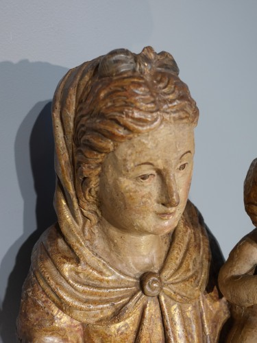 Renaissance - Italian Virgin And Child, Late 16th Century