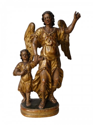 "Group ""Tobias and the Archangel Raphael, late 17th century"