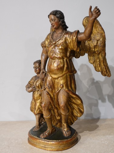 "Group ""Tobias and the Archangel Raphael, late 17th century -"