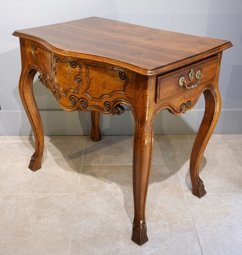 Louis XV Provençal Console, Walnut, Late 18th Century - Furniture Style Directoire