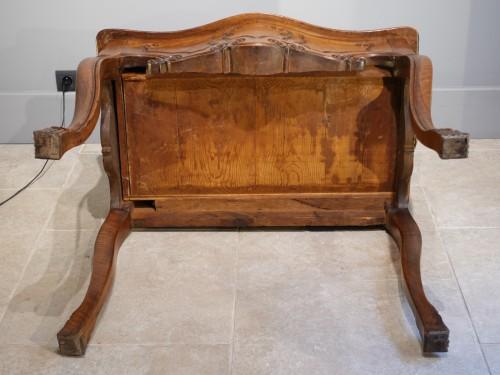 Directoire - Louis XV Provençal Console, Walnut, Late 18th Century