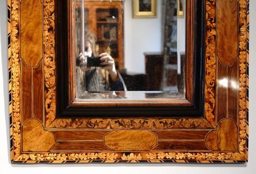 Marquetry mirror attributed to Thomas Hache circa 1695 -