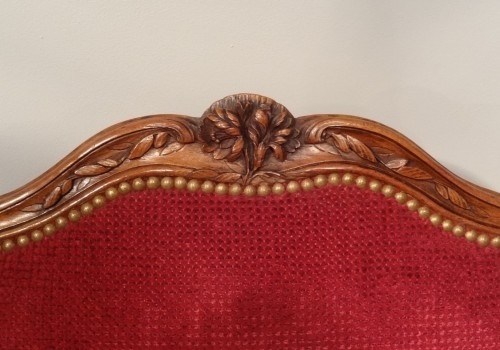 18th century - Pair of Louis XV armchairs attributed to Nogaret