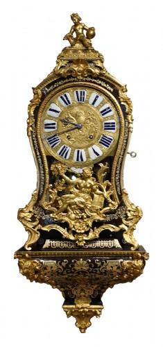 "Louis XV Cartel In Boulle Marquetry, Signed ""saint Martin à Paris"""