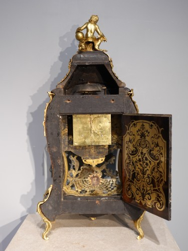 """Horology  - Louis XV Cartel In Boulle Marquetry, Signed """"saint Martin à Paris"""""""