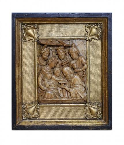 Alabaster Plaque Mechelen, By Gillis Neins, 17th Century
