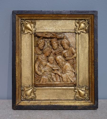 Alabaster Plaque Mechelen, By Gillis Neins, 17th Century -