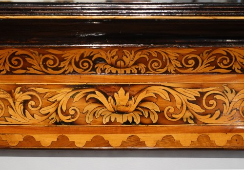 Inlaid Mirror Attributed To Thomas Hache, 17th Century -