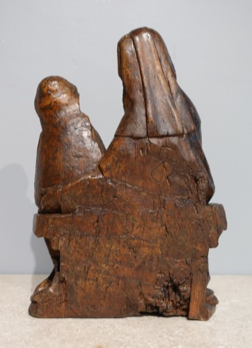 Saint Anne educator in carved lime tree circa 1510 -