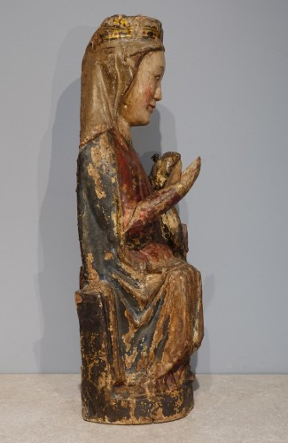 11th to 15th century - Virgin and Child in Majesty known as ''Sedes Sapientiae '', late 13th cent